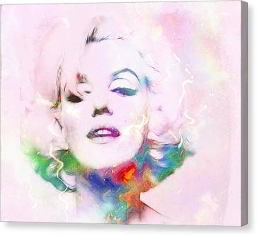 Sexy Marilyn Canvas Print by Steve K