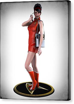 Sexy Trekky Canvas Print by Frederico Borges