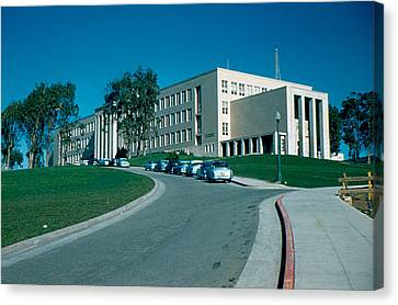 Sf City College 1956 Canvas Print by Cumberland Warden