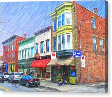 Sg - 417 Canvas Print by Glen River