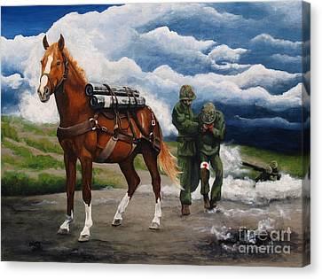 Sgt. Reckless Canvas Print