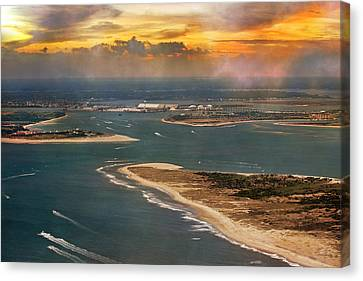 Shackleford Banks Fort Macon North Carolina Canvas Print by Betsy Knapp