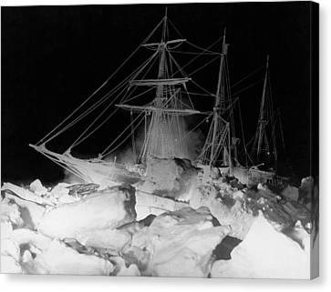 Endurance Canvas Print - Shackleton's Ship, Endurance by Underwood Archives