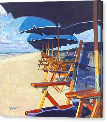 Shade Canvas Print by David Randall