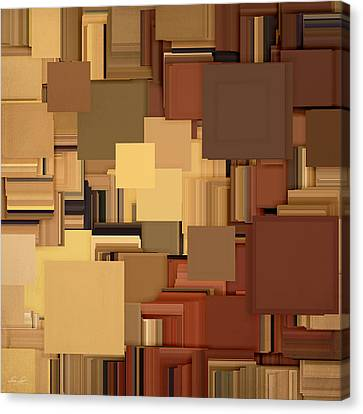 Shades Of Brown Canvas Print by Lourry Legarde