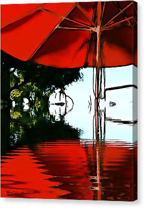 Shades Of Red Canvas Print by Robert Smith