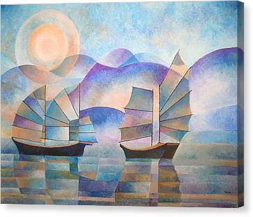 Shades Of Tranquility Canvas Print