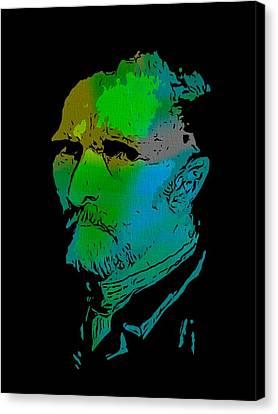 Shades Of Van Gogh Canvas Print
