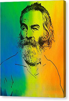 Shades Of Walt Whitman Canvas Print by Dan Sproul