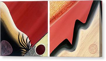 Shades Canvas Print by Yafit Seruya