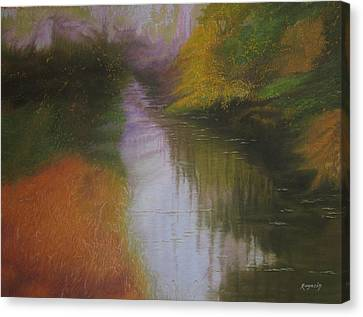 Shadow Creek Canvas Print
