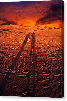 Shadow  Canvas Print by Gray  Artus