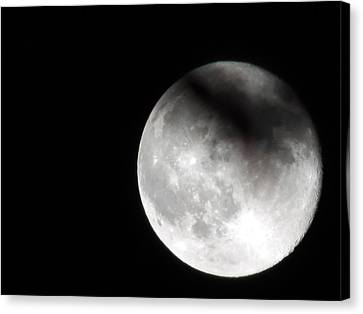 Shadow On The Moon Canvas Print