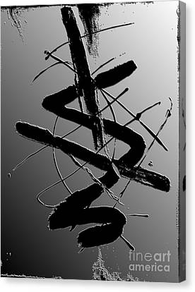 Shadow On The Wall I Canvas Print by Christiane Schulze Art And Photography