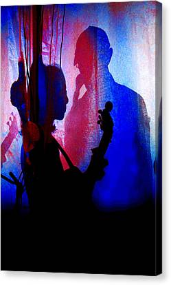 Shadow Play Canvas Print by Mike Flynn