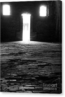 Shadow Windows  Canvas Print by KayLee Byrtus