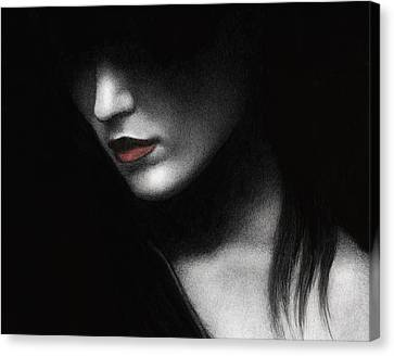 Shadowed In My Mind Canvas Print by Pat Erickson