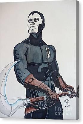 Shadowman II Canvas Print
