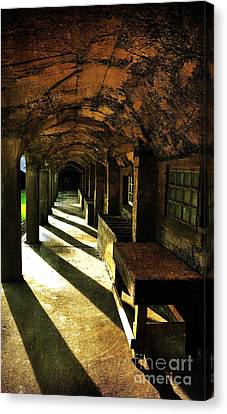 Shadows And Arches I Canvas Print