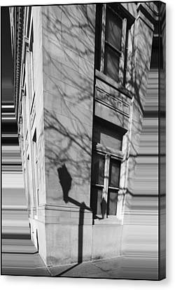Shadows In The City Canvas Print