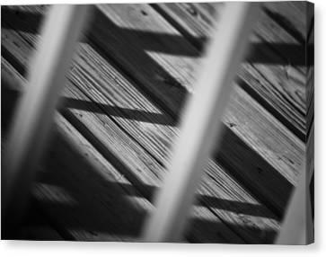 Shadows Of Carpentry Canvas Print by Christi Kraft