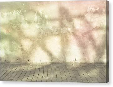 Shadows On Wall Canvas Print