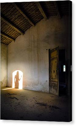 Shadows Reborn - Vanity Canvas Print by Alfio Finocchiaro