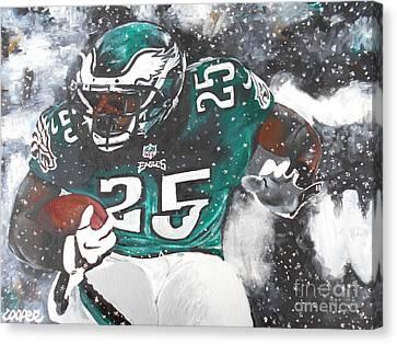 Shady Mccoy Canvas Print by Kevin J Cooper Artwork
