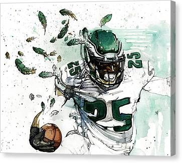 Shady Mccoy Canvas Print by Michael  Pattison