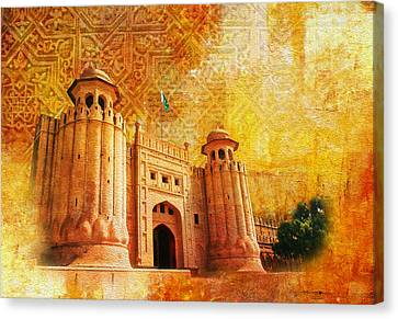 Shahi Qilla Or Royal Fort Canvas Print by Catf