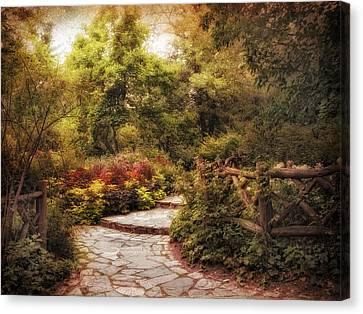 Shakespeare's Garden Canvas Print by Jessica Jenney