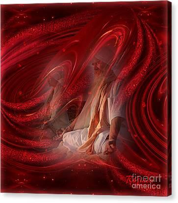 Canvas Print featuring the digital art Shakti - Spirituality Art By Giada Rossi by Giada Rossi