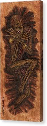 Shallow Grave Canvas Print by David Shumate