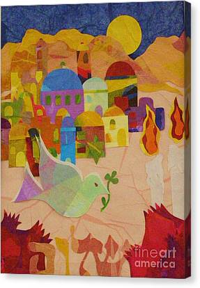 Shalom  Canvas Print by Diane Miller