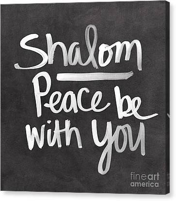 Shalom Canvas Print by Linda Woods