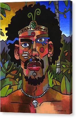Shaman Canvas Print by Douglas Simonson
