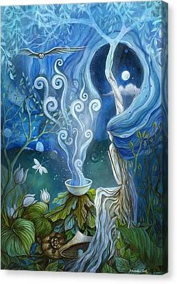 Shaman Light Canvas Print by Amanda Clark