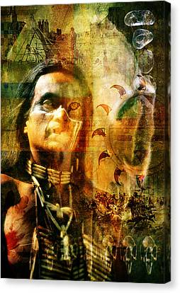 Shaman. Canvas Print by Mark Preston