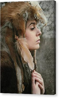 Shaman Canvas Print by Cambion Art