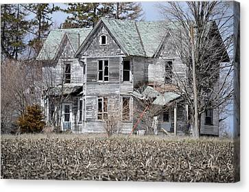 Shame Canvas Print by Bonfire Photography