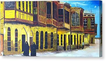 Shanasheel Of Old Baghdad Canvas Print by Rami Besancon