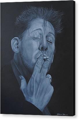 Shane Macgowan Canvas Print