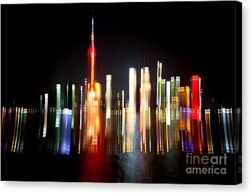 Shanghai Canvas Print by Angelika Bentin