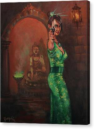 Shanghai Surprise Canvas Print by Tom Shropshire
