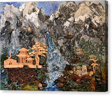 Shangrila  Canvas Print by Sally Clark