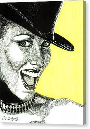 Shania Twain Canvas Print