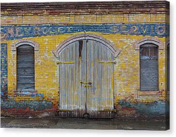 Portal Canvas Print - Shaniko, Oregon, Usa by Art Wolfe