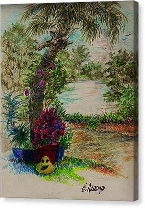 Shannon's  Garden Canvas Print
