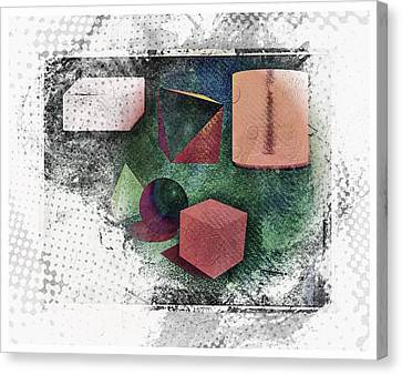 Shapes Canvas Print by Allen Beilschmidt