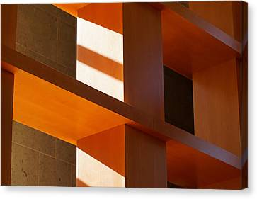 Shapes And Shadows 2 Canvas Print by Ernie Echols